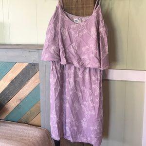 NWT flounce dress